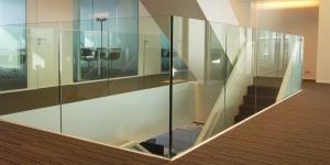 Balustrades van glas