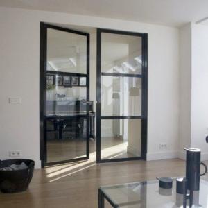 Glazen deuren voorbeeld