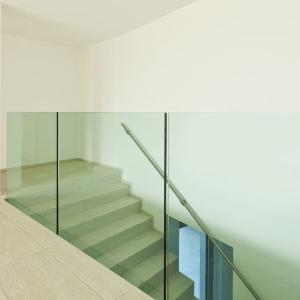 Voorbeeld glazen balustrade 2
