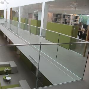 Voorbeeld glazen balustrade 3